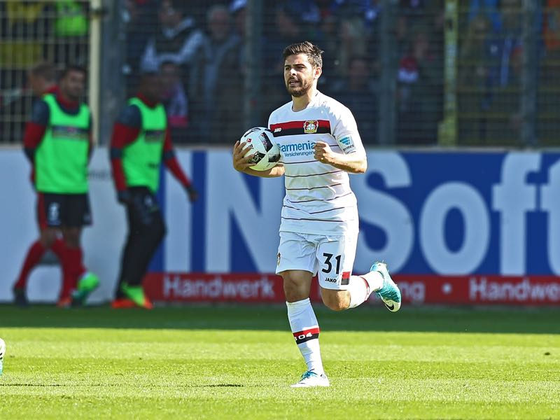 Kevin Volland must feel that the move to Bayer Leverkusen was a step backwards. (Photo by Thomas Niedermueller/Bongarts/Getty Images)