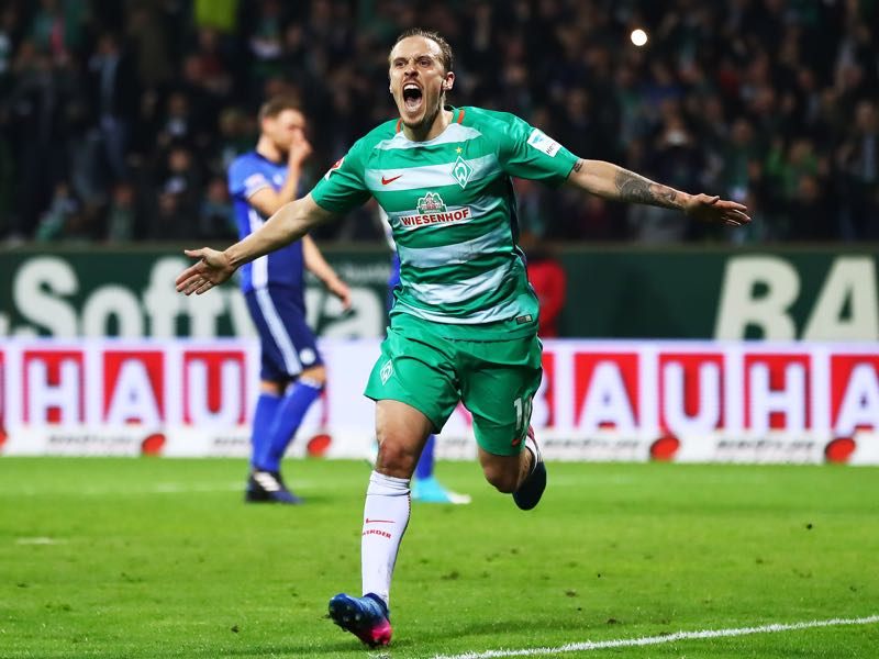 Max Kruse is Werder Bremen's key player. (Photo by Martin Rose/Bongarts/Getty Images)