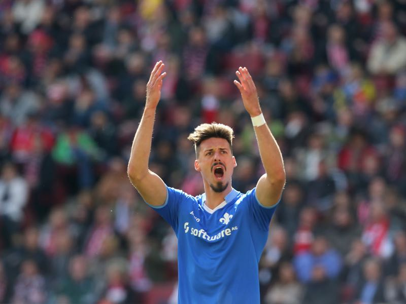 Sandro Wagner had his breakthrough at Darmstadt. (Photo by Juergen Schwarz/Bongarts/Getty Images)