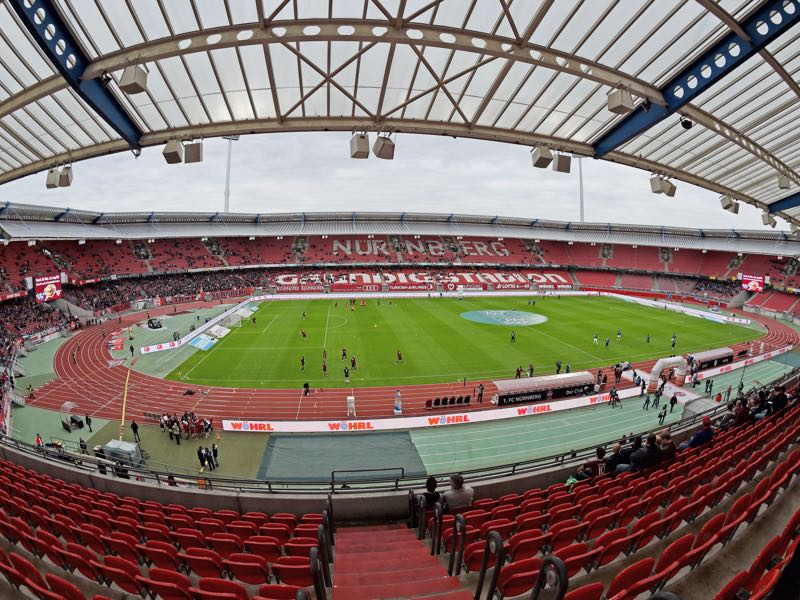 Nürnberg vs Dortmund will take place at the Max-Morlock-Stadion. (Photo by Thomas Starke/Bongarts/Getty Images)