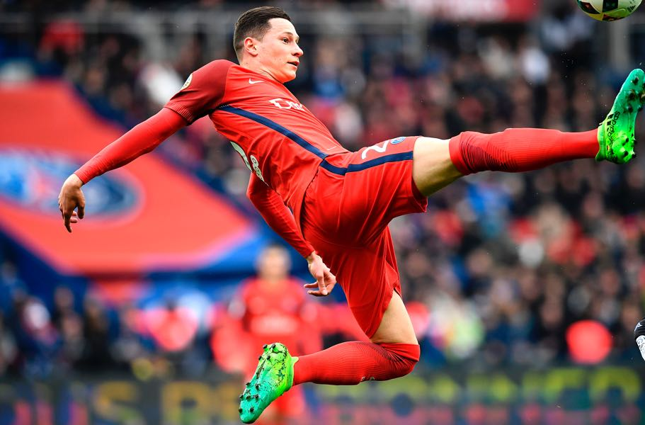 Julian Draxler has made a major step forward in his development. (FRANCK FIFE/AFP/Getty Images)