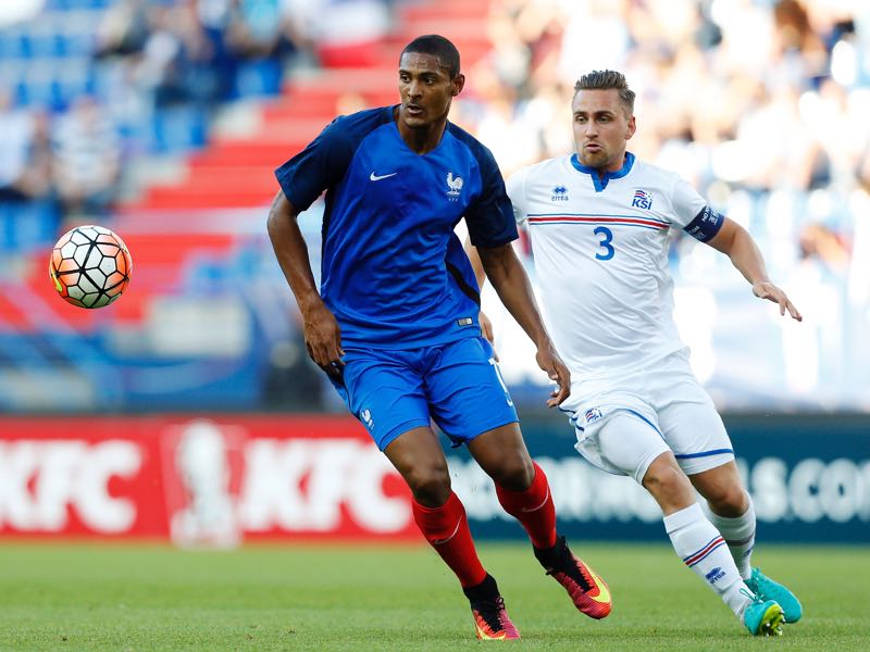 Sebastien Haller is a U-21 France national team player. (CHARLY TRIBALLEAU/AFP/Getty Images)
