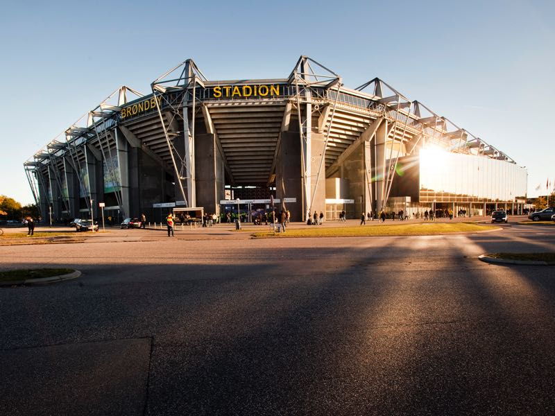 Denmark vs Germany will take place at the Brøndby Stadium in Copenhagen. (ANDREAS HILLERGREN/AFP/Getty Images)