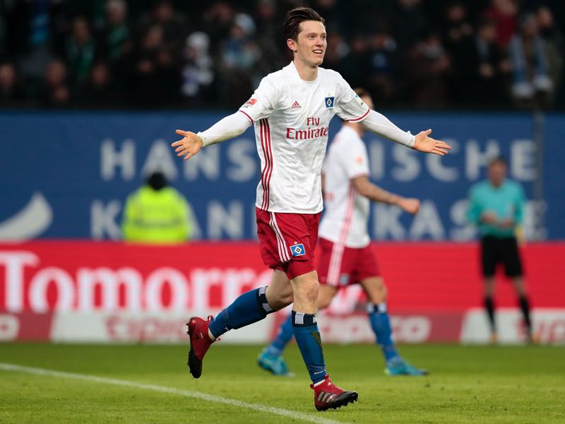 Hamburg have already turned down a €4.5 million offer for Michael Gregoritsch (Photo by Oliver Hardt/Bongarts/Getty Images)