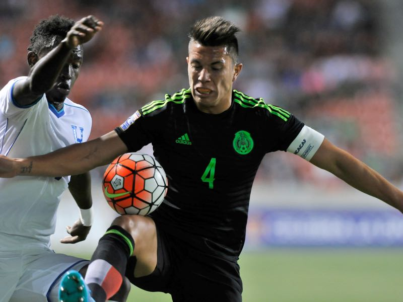 CONCACAF football has steeled Carlos Salcedo. Photo by Gene Sweeney Jr/Getty Images)