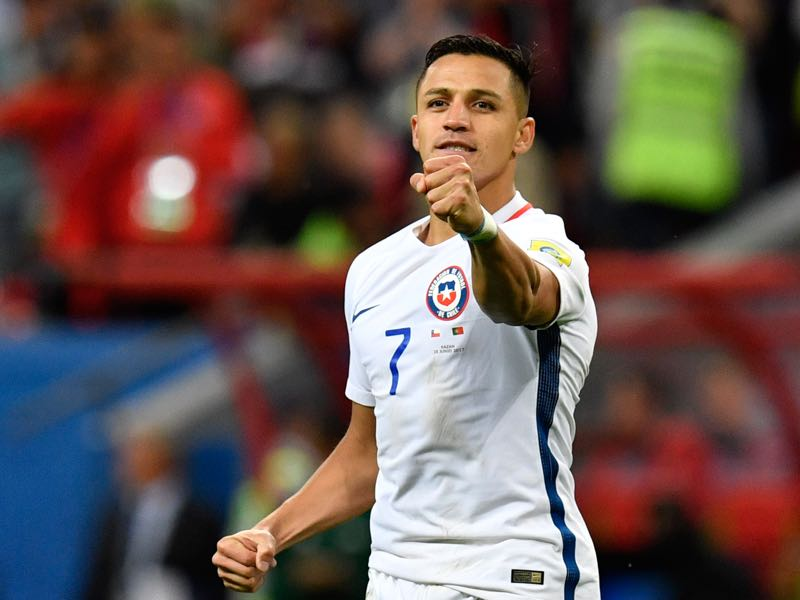 Alexis Sánchez is the difference maker for Chile. (ALEXANDER NEMENOV/AFP/Getty Images)