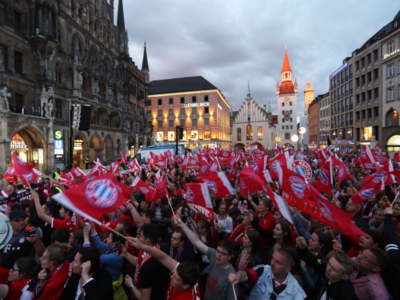Bayern are likely to once again celebrate a German championship (Photo by Alexandra Beier/Bongarts/Getty Images)