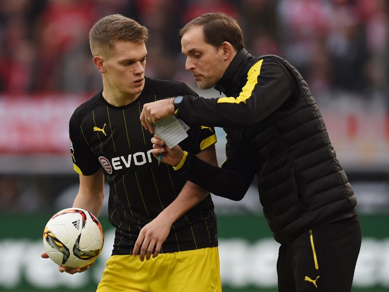 Matthias Ginter played regular minutes under Thomas Tuchel. (PATRIK STOLLARZ/AFP/Getty Images)