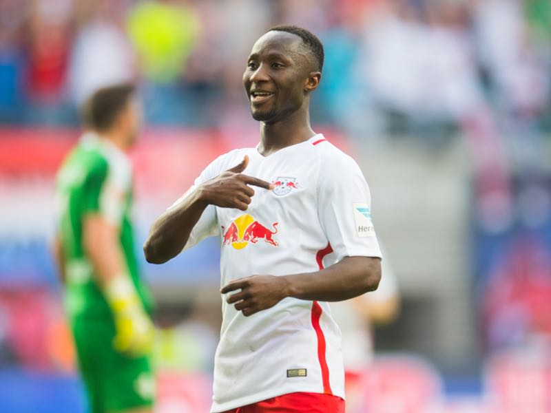 Ralf Rangnick has refused to sell Naby Keïta to Liverpool FC this summer. (ROBERT MICHAEL/AFP/Getty Images)