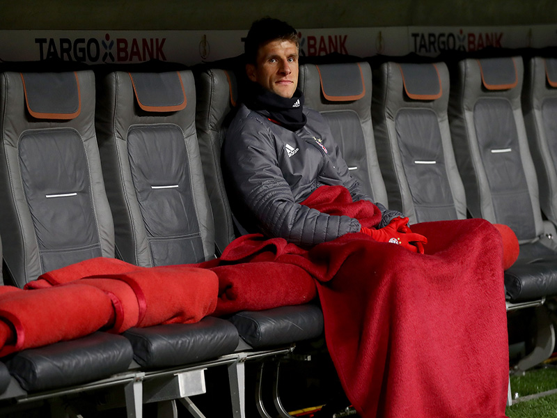 Müller could find himself more often on the bench because of James Rodriguez