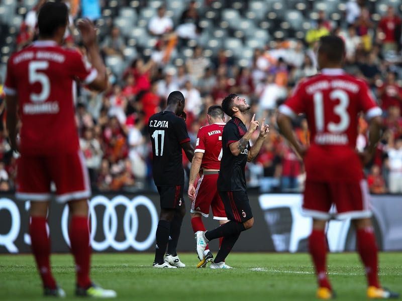 Bayern München were humiliated at the International Champions Cup by AC Milan (Photo by Lintao Zhang/Getty Images)