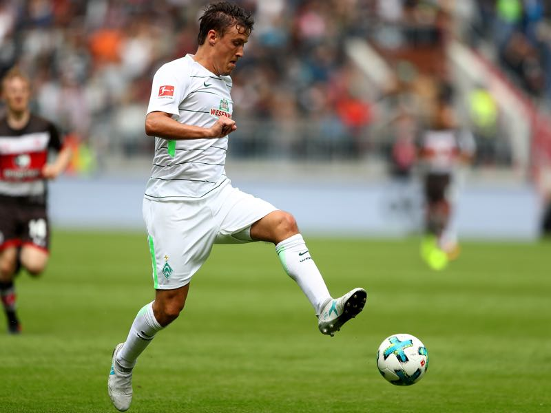 Max Kruse during a preseason friendly with Werder Bremen. (Photo by Martin Rose/Bongarts/Getty Images)