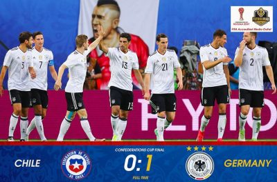 Chile v Germany – Confederations Cup Final Minute By Minutes