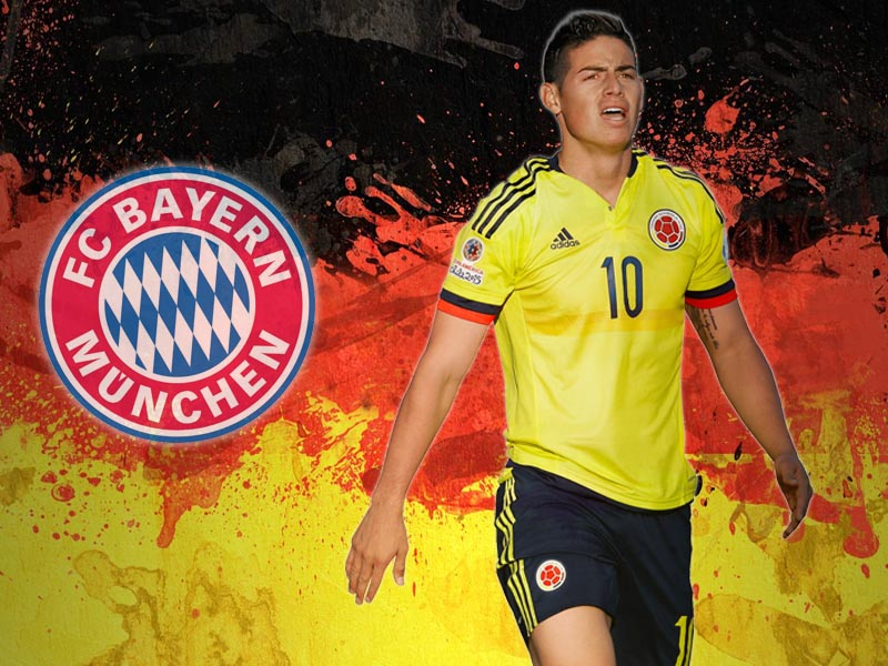 James Rodríguez – A threat to Franck Ribéry, Arjen Robben and Thomas Müller?