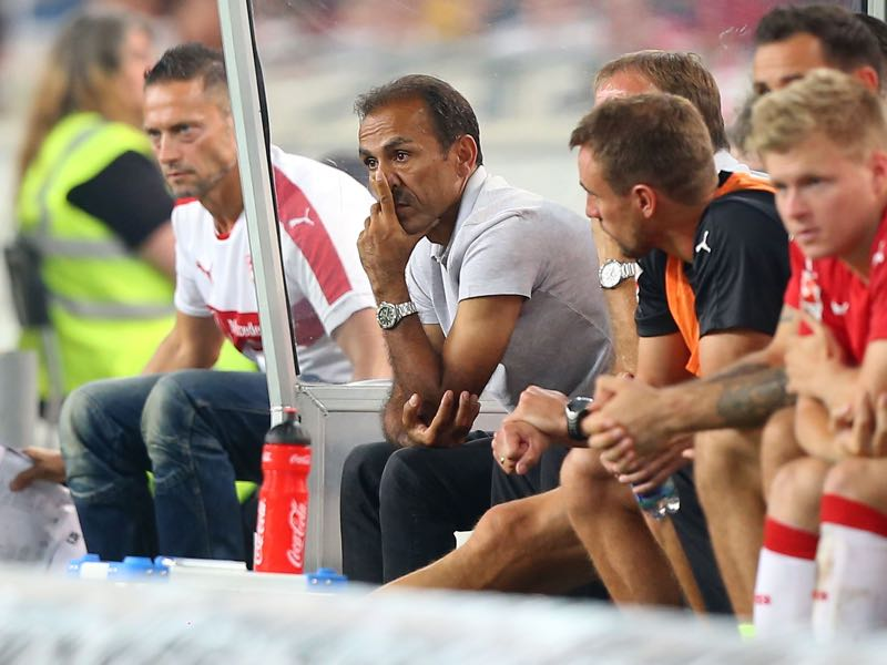 Jos Luhukay was a poor fit for Stuttgart's rebuild. (Photo by Thomas Niedermueller/Bongarts/Getty Images)