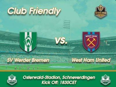 Werder Bremen vs West Ham United – Live