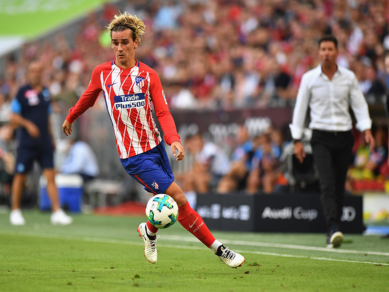 Antoine Griezmann will have to make a decision about his future. (Photo by Sebastian Widmann/Bongarts/Getty Images for Audi)