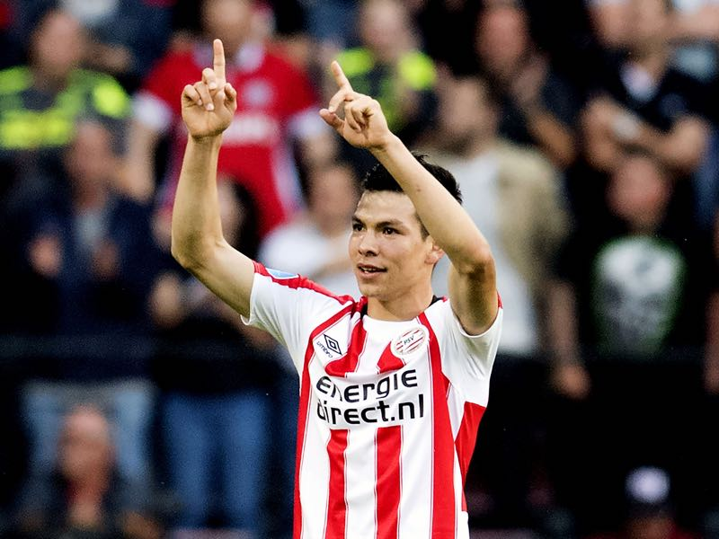 Hirving Lozano has been in good form for PSV Eindhoven. (OLAF KRAAK/AFP/Getty Images)