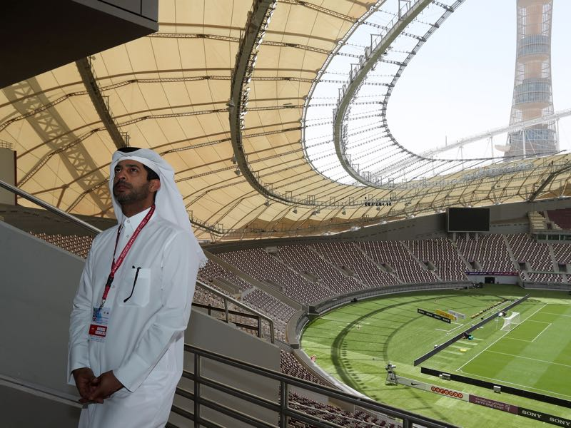 Geopolitical events have meant that Qatar's 2022 World Cup has come under pressure. (KARIM JAAFAR/AFP/Getty Images)