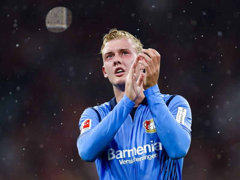 Bayer Leverkusen's Julian Brandt came through the youth system without needing to play for the reserve side. (Photo by Maja Hitij/Bongarts/Getty Images)