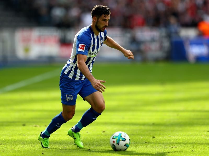 Mathew Leckie scored twice on the opening day of the Bundesliga. (Photo by Martin Rose/Bongarts/Getty Images)