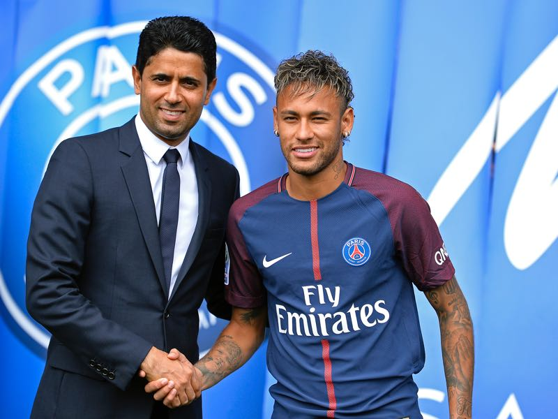 PSG signing Neymar shows that Qatar has the financial power despite the economic sanctions to remain a global player. (Photo by Aurelien Meunier/Getty Images)
