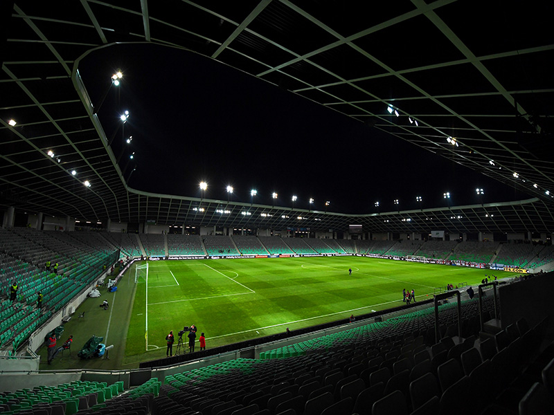 Domžale vs Freiburg will take place at the Stadion Stozice in Ljubljana, Slovenia. (Photo by Laurence Griffiths/Getty Images)