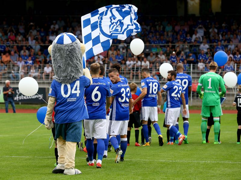 Schalke 04 had a pretty decent pre-season. (Photo by Christof Koepsel/Bongarts/Getty Images)