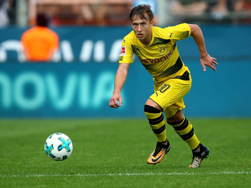 Felix Passlack will be heading the other way to Hoffenheim. (Photo by Christof Koepsel/Bongarts/Getty Images)
