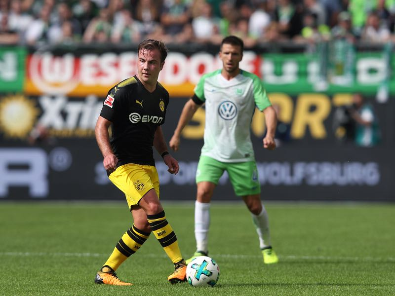 Mario Götze is slowly regaining his form. (Photo by Ronny Hartmann/Bongarts/Getty Images)