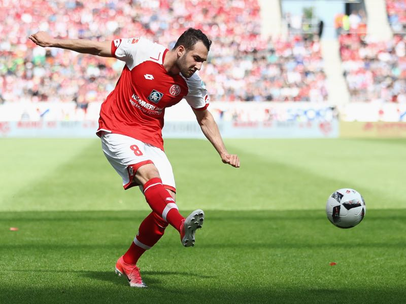 Levin Öztunali is Mainz's player to watch out for. (Photo by Alex Grimm/Bongarts/Getty Images)