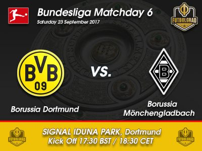 Borussia Dortmund vs Borussia Mönchengladbach – Bundesliga Preview