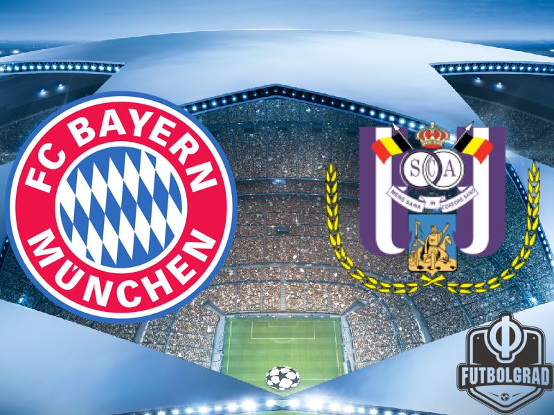Bayern vs Anderlecht – Champions League Preview