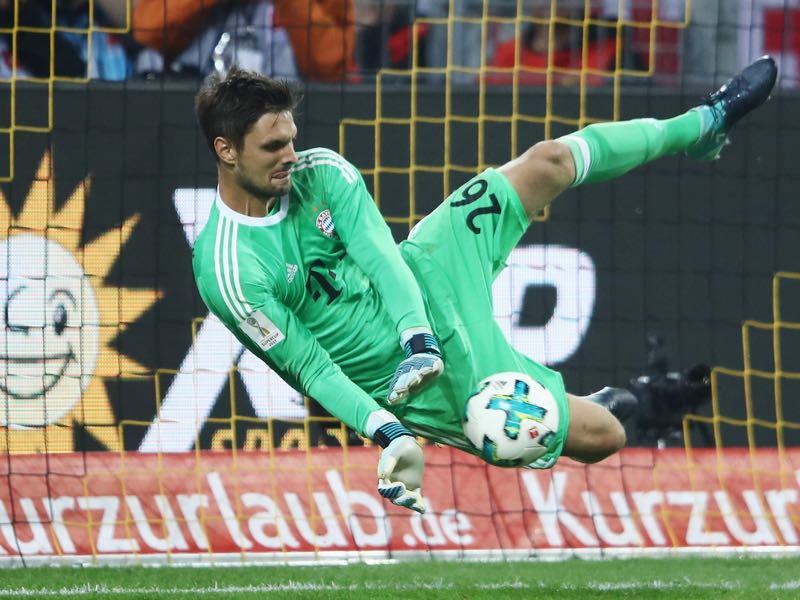 Sven Ulreich is an excellent shot stopper, but lacks the ability to play like an extra defender. (Photo by Alex Grimm/Bongarts/Getty Images )