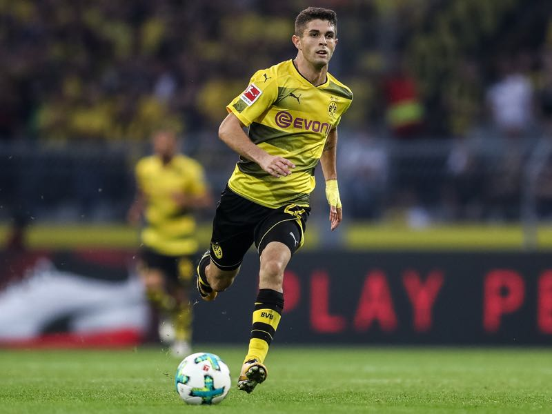 Christian Pulisic has been excellent for Dortmund this season. (Photo by Maja Hitij/Bongarts/Getty Images)