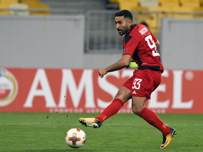 Saman Ghoddos is Östersunds FK's biggest financial asset. (GENYA SAVILOV/AFP/Getty Images)