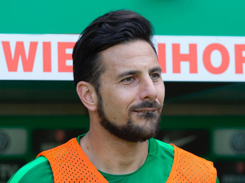 Claudio Pizarro did not feature often for Werder Bremen last season. (JOERG SARBACH/AFP/Getty Images)