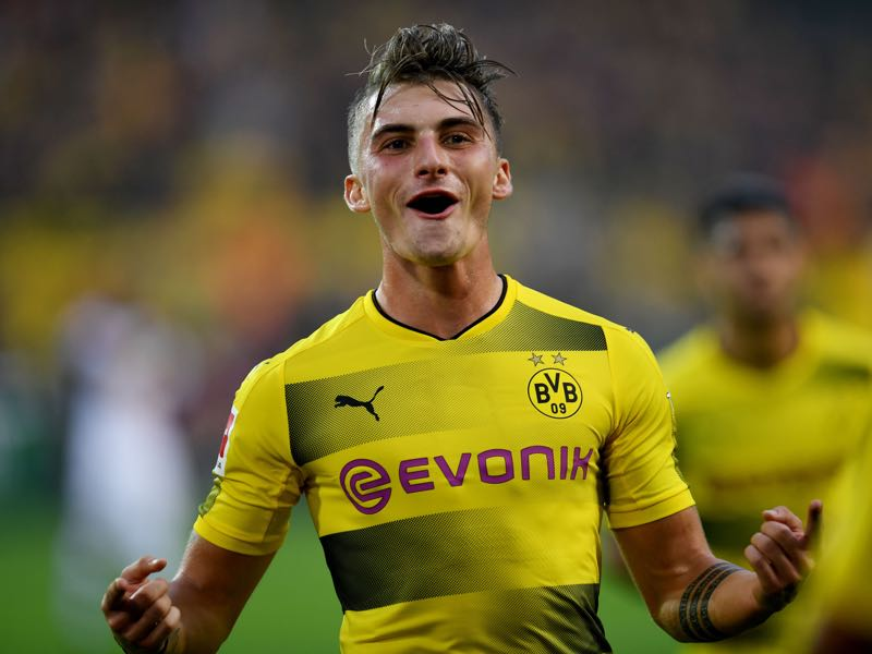 Maximilian Philipp had a fantastic start to his Borussia Dortmund career. (PATRIK STOLLARZ/AFP/Getty Images)
