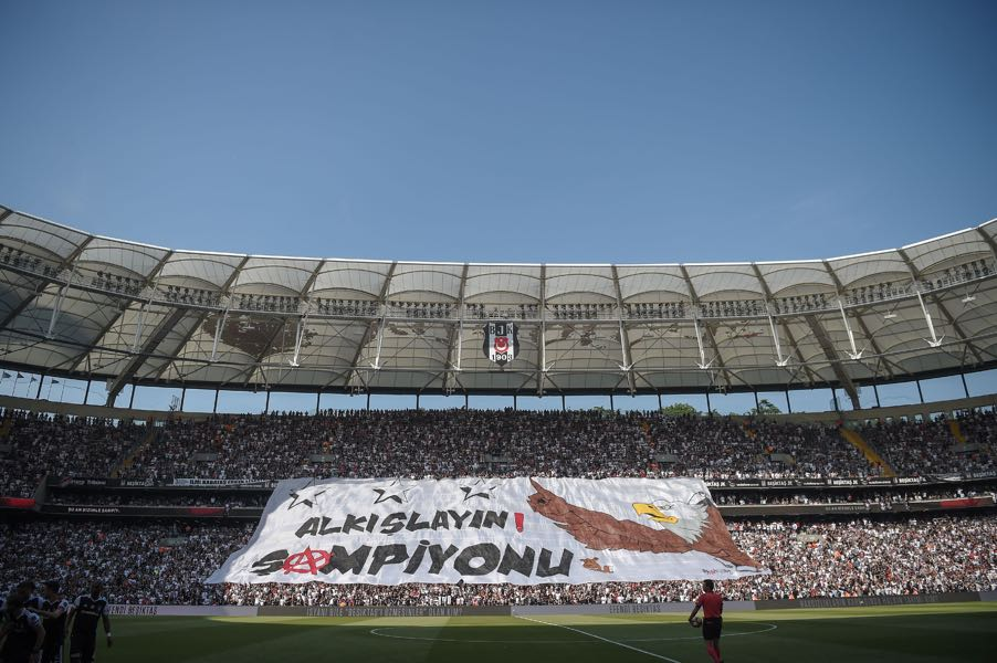 Besiktas vs RB Leipzig will take place at the Besiktas Park in Istanbul. (OZAN KOSE/AFP/Getty Images)