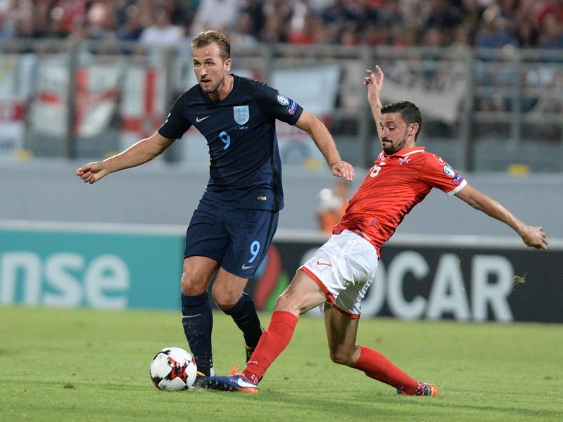 Harry Kane is one of the few true English football stars. (MATTHEW MIRABELLI/AFP/Getty Images)