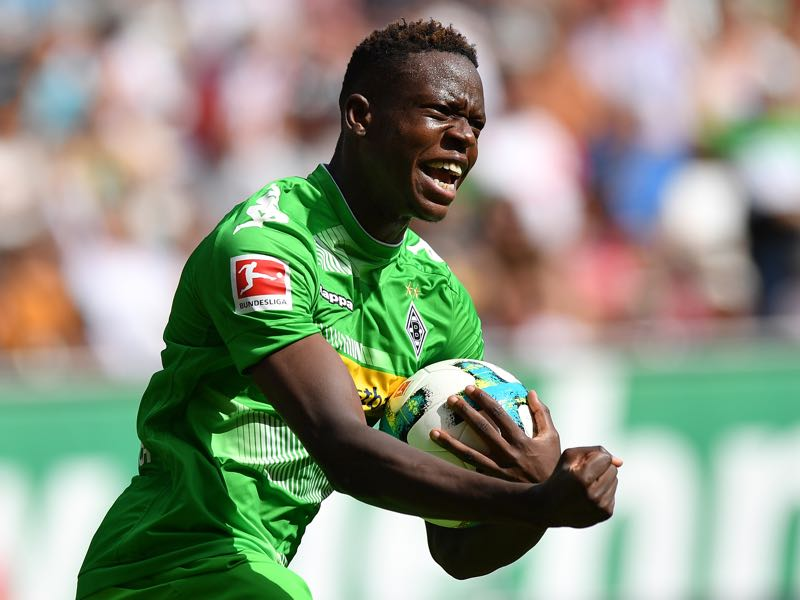 Denis Zakaria has quickly established himself as one of Gladbach's key players. (Photo by Sebastian Widmann/Bongarts/Getty Images)