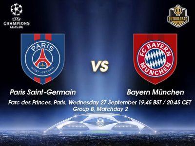 Paris vs Bayern – Champions League Match Report