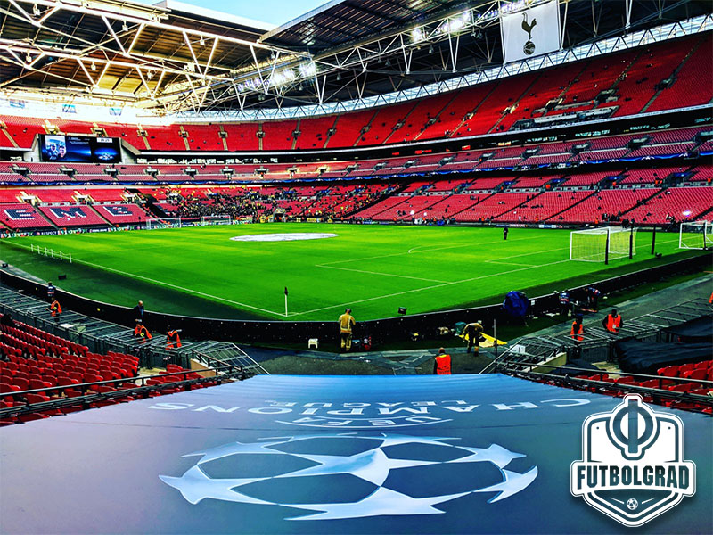 Tottenham vs Dortmund will take place at Wembley. (Photo: Chris Williams / Futbolgrad Live Network)