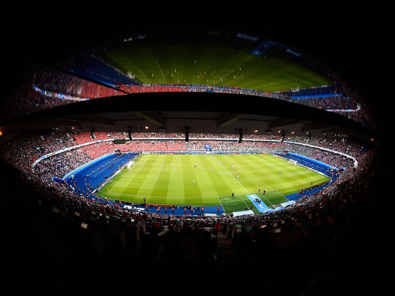 Paris Saint-Germain vs Real Madrid will take place at the Parc des Princes in Paris. (Photo by Mike Hewitt/Getty Images)