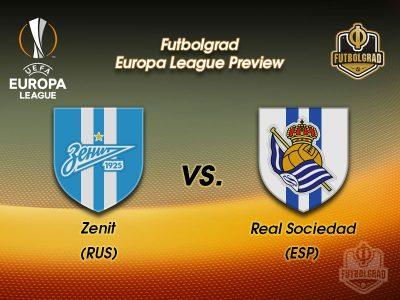 Zenit vs Real Sociedad – Europa League Preview
