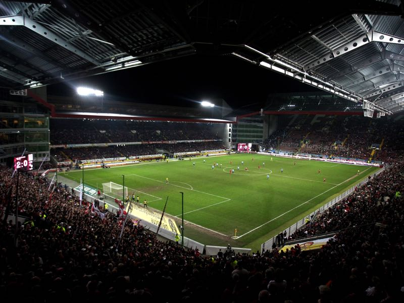 Kaiserslautern vs Hoffenheim will take place at the Fritz-Walter-Stadion in Kaiserslautern. (Photo by Alex Grimm/Bongarts/Getty Images)