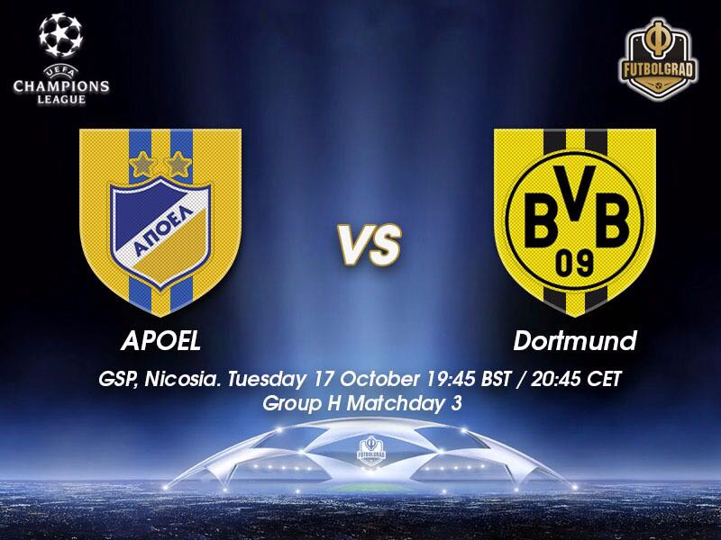 APOEL vs Borussia Dortmund – Champions League Preview