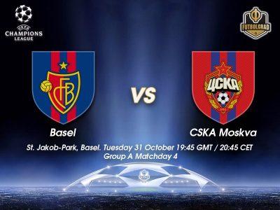 Basel vs CSKA Moscow – Champions League Preview