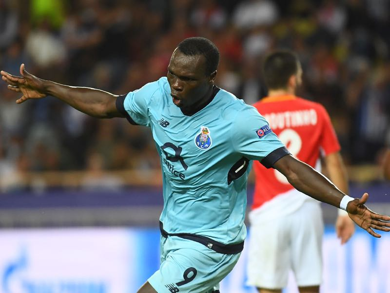 Porto's Aboubakar can hurt RB Leipzig's defence. (ANNE-CHRISTINE POUJOULAT/AFP/Getty Images)