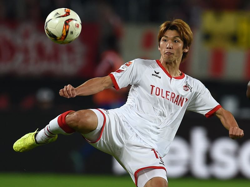 Yuya Osaka will be key to finally get Köln scoring. (PATRIK STOLLARZ/AFP/Getty Images)